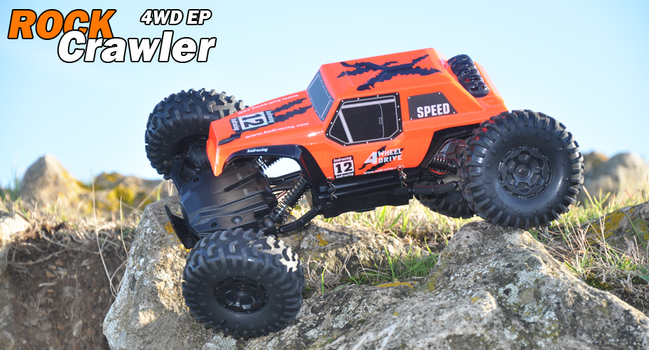 BSD 1/12TH 4WD ROCK CRAWLER 2.4GHZ - ORANGE