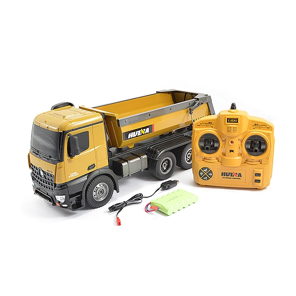 HUINA RC TIPPER/DUMP TRUCK with Die Cast Cab, Buckets and Wheels