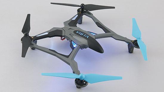 Dromida Vista UAV Quadcopter RTF Blue
