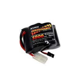 Nimh Battery Pack SubC 3800mah 6v Hump Premium Sport