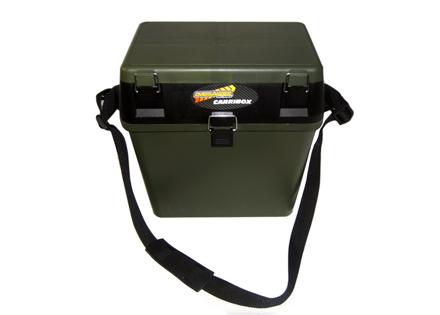 Green Carribox Compact Seat & plastic carry