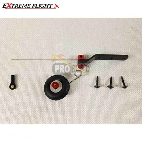 Extreme Flight 60-64inch Aircraft Carbon Fiber Tail Wheel Assembly