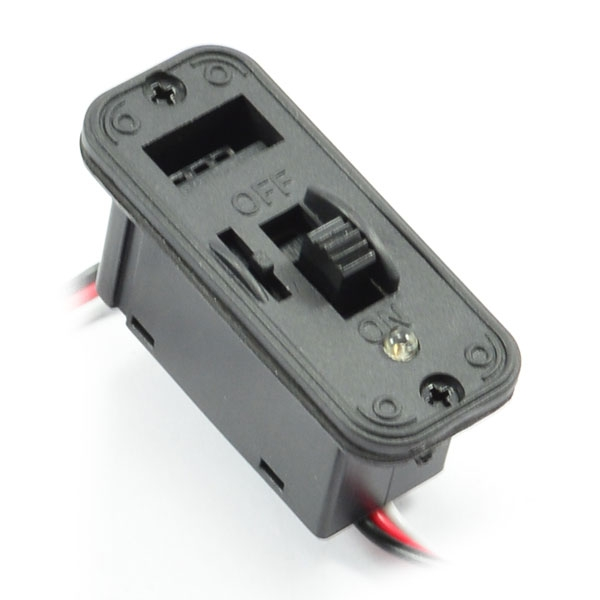 Etronix Heavy Duty Futaba Switch With Led and Charge Port