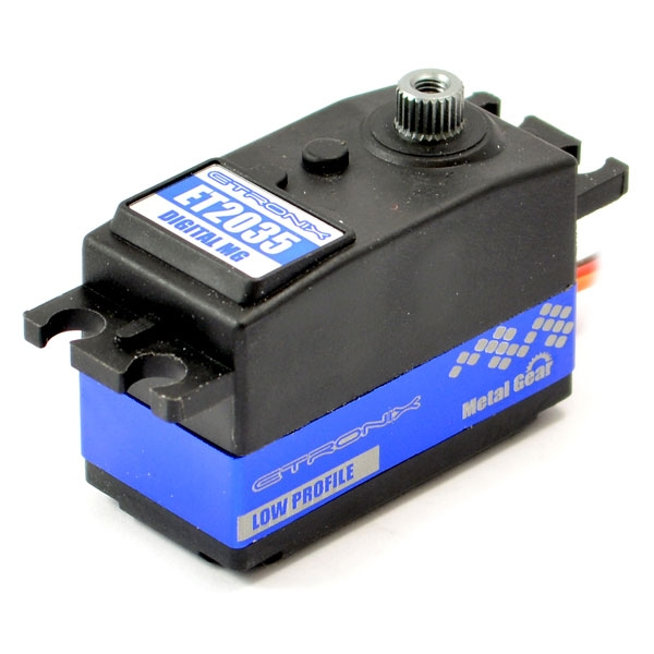 ETRONIX 8.2KG/0.11S LOW PROFILE DIGITAL SERVO METAL GEAR