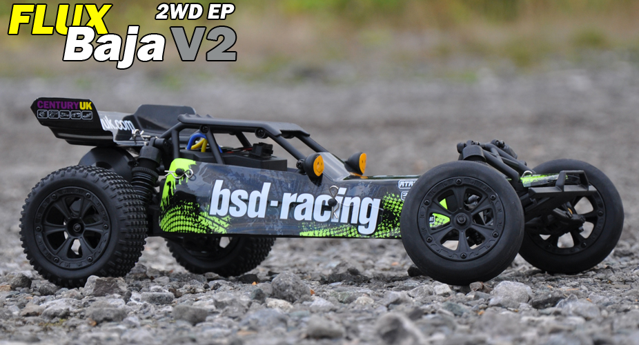 FLUX BAJA V2 1/10TH BUGGY RTR 7.4V LI-PO