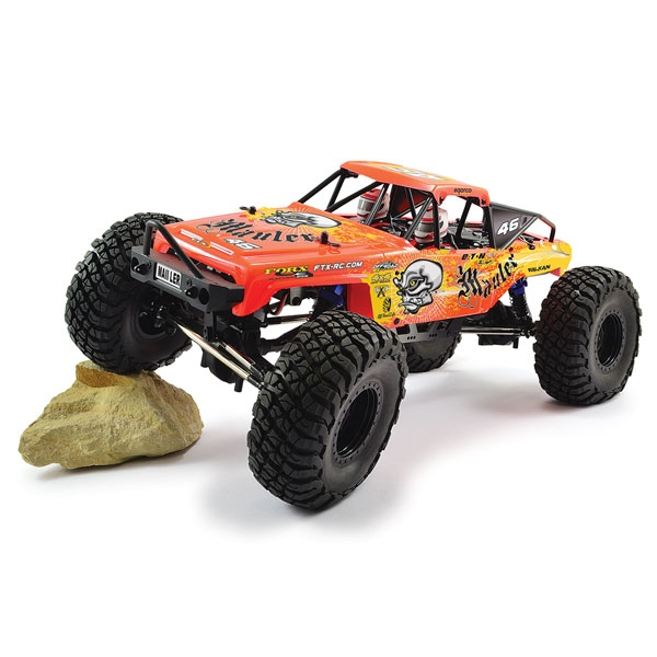 FTX MAULER 4X4 ROCK CRAWLER BRUSHED 1:10 READY-TO-RUN Red