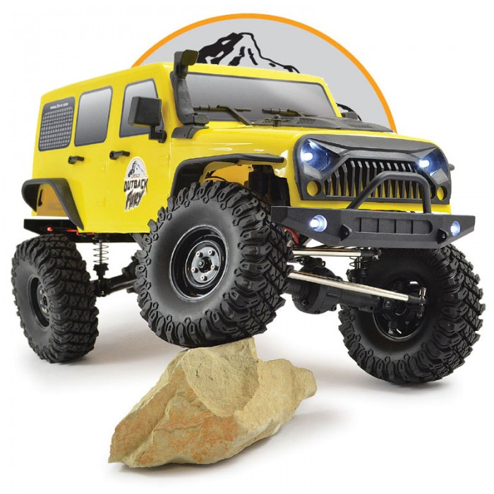 FTX OUTBACK FURY 4X4 RTR 1:10 TRAIL CRAWLER RTR