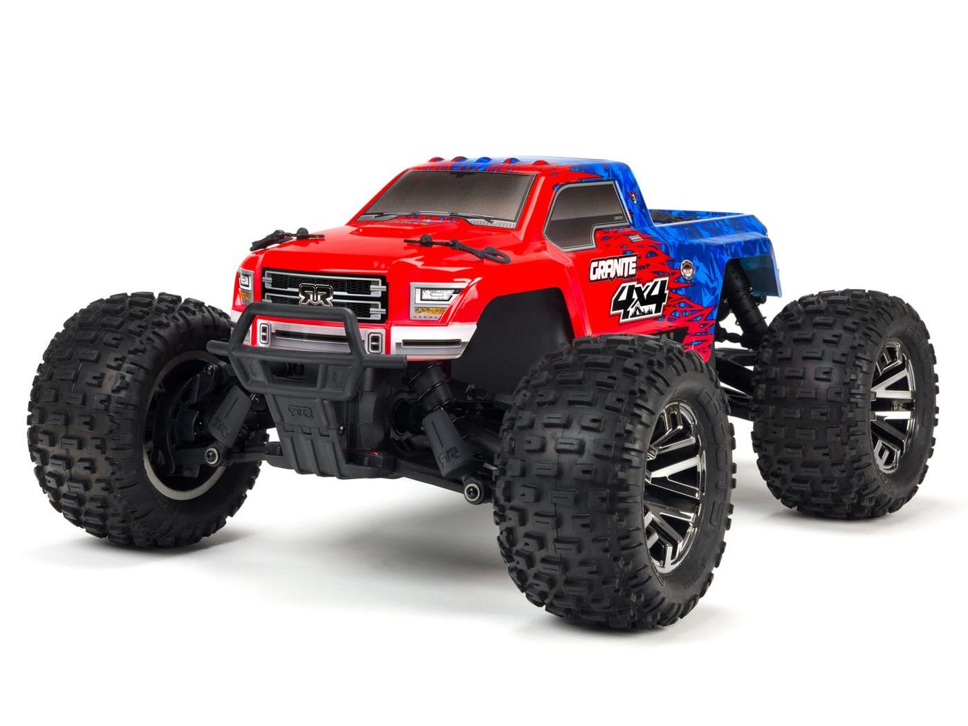 Arrma Granite 4X4 3S BLX Monster Truck RED/BLUE