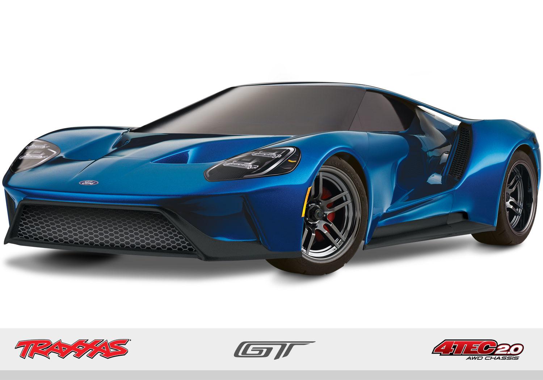 Traxxas Ford GT, 4-Tec 2.0 AWD TSM (TQi/No Batt/No Chg)