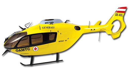 EC-135 450 Scale Fuselage
