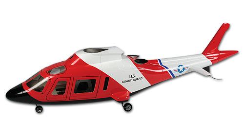 450 Scale Fuselage Agusta A-109