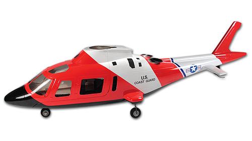500 Scale Fuselage Agusta A-109