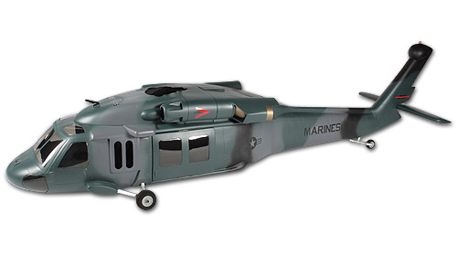 500 Scale Fuselage UH-60