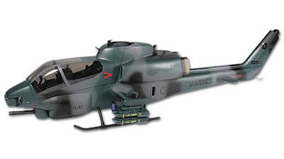 500 Scale Fuselage AH-1 Cobra