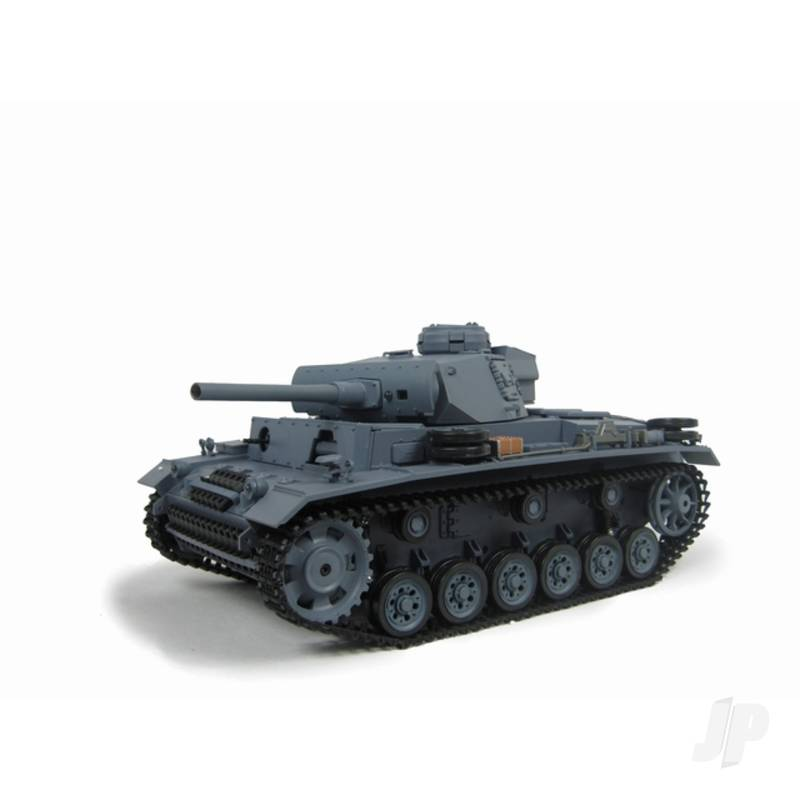 1:16 German Panzer III (2.4GHz+Shooter+Smoke+Sound)