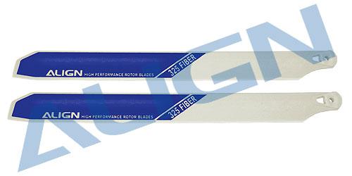 325 Fiber Rotor Blade (White)