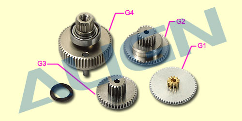 DS610 Servo Gear Set