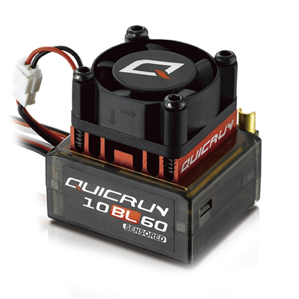 HOBBYWING QUICRUN-10BL60 SENSORED 60A BRUSHLESS ESC