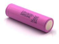 3000mAh Unprotected Button Top 18650 Battery