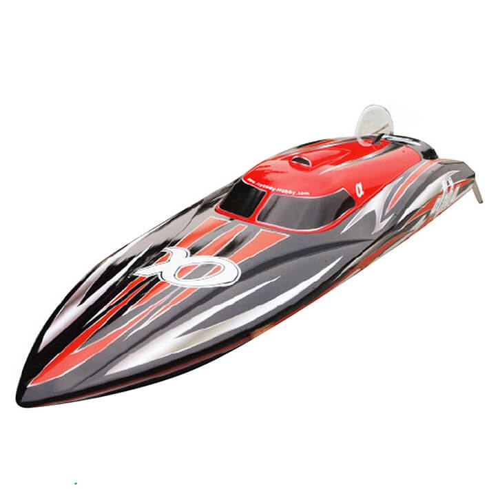 JOYSWAY ALPHA BRUSHLESS ARTR RED RACING BOAT W/O BATT/CHRGR