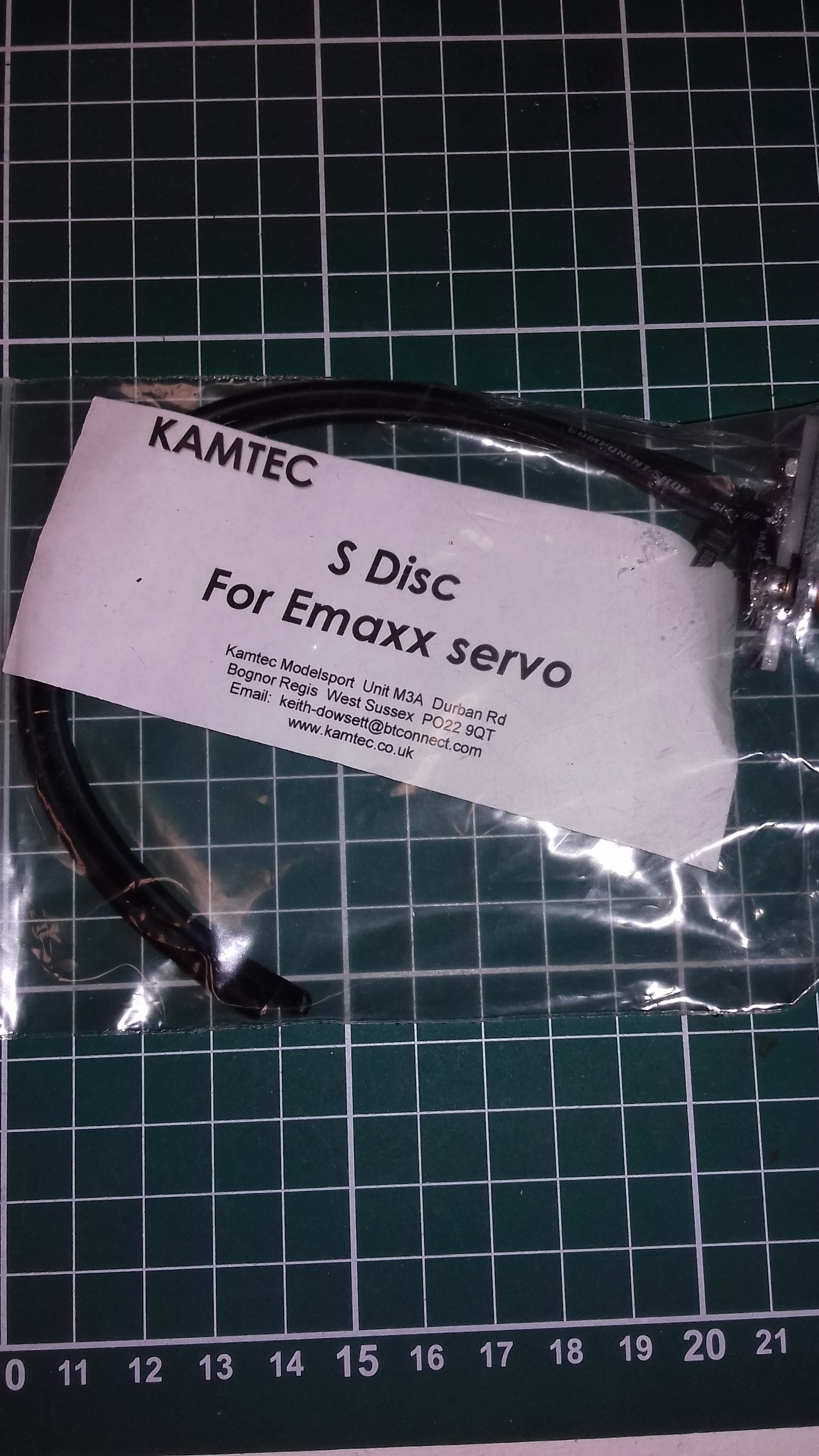 Kamtec S Disc for K10 Manual Speed Controllers Emax