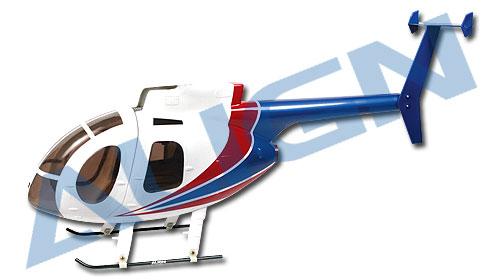 450 Scale Fuselage 500E