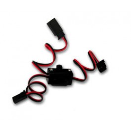 Switch Futaba type with charge lead 22AWG wire
