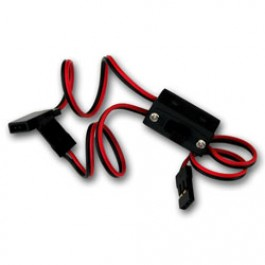 JR type Switch with charge lead 22AWG wire