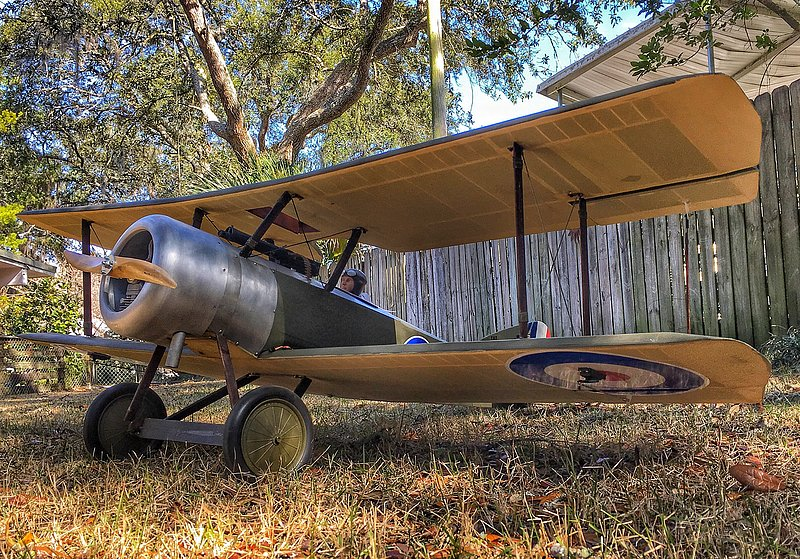 Balsa USA 1/4 Scale Sopwith Pup
