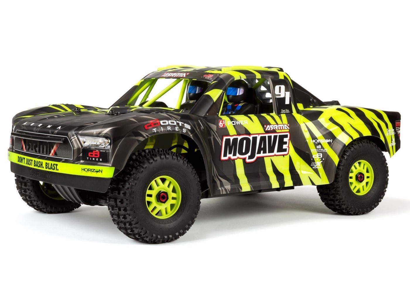 Arrma Mojave 6S BLX 1/7 Desert Truck Blk/Grn