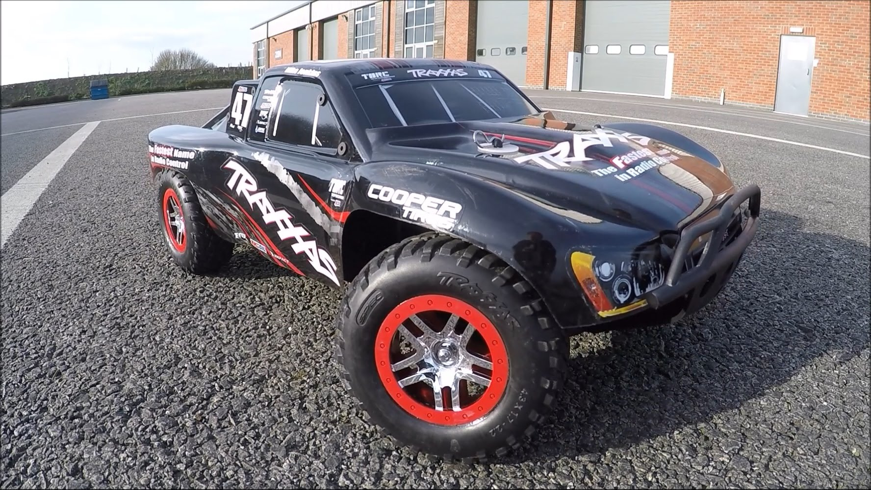 Traxxas Slash VXL Brushless 4WD TSM (TQI/No Batt or Chg) Mike Jenkins