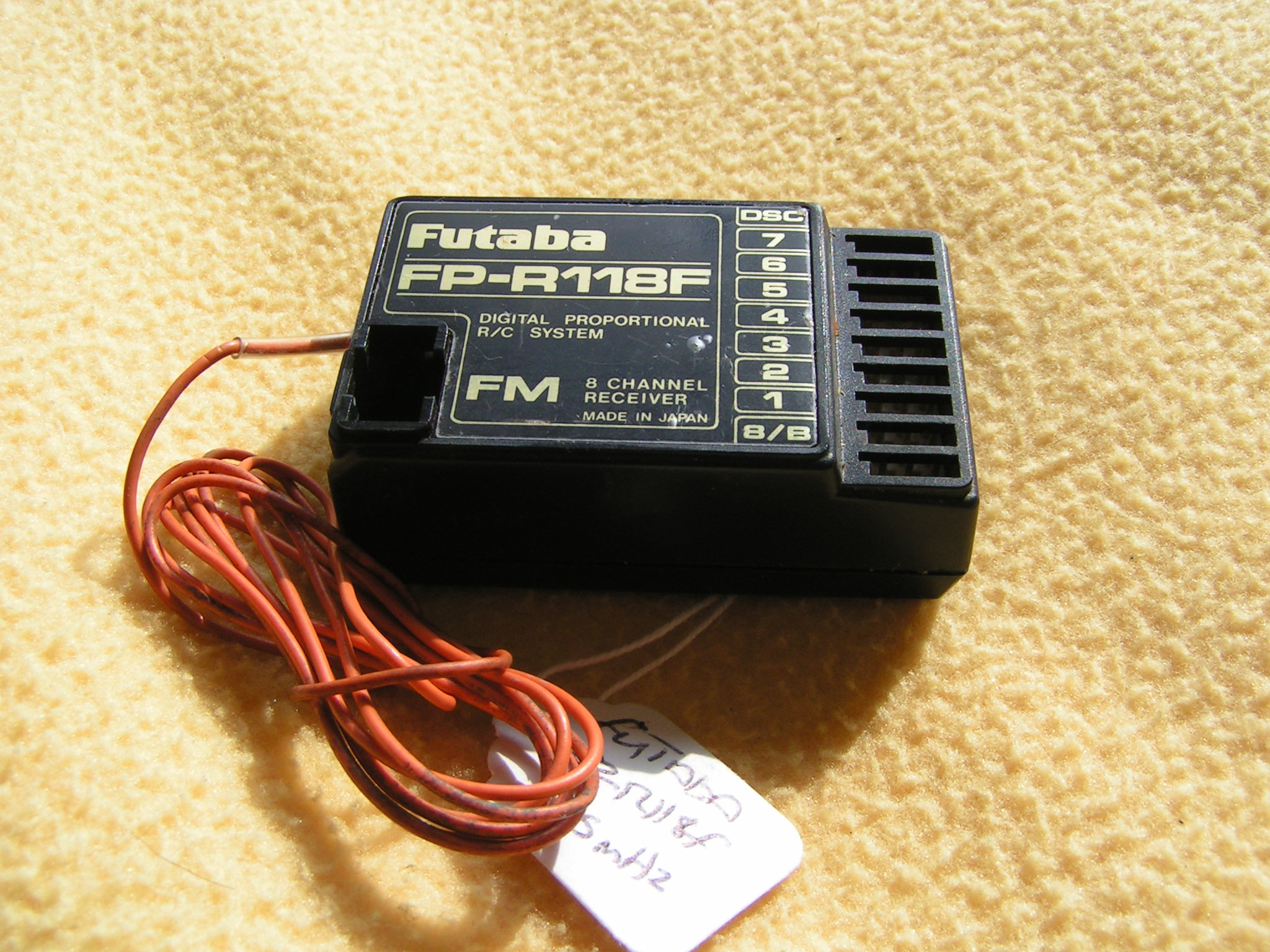photo of: Second Hand Futaba FP-R118F Receiver