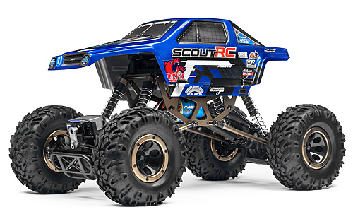 MAVERICK SCOUT RC 1/10 4WD ELECTRIC ROCK CRAWLER By Hpi