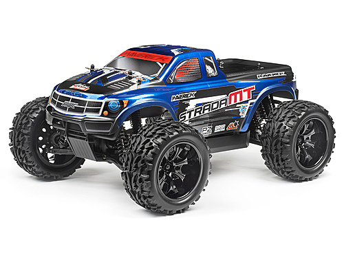 MONSTER TRUCK PAINTED BODY BLUE (MT)
