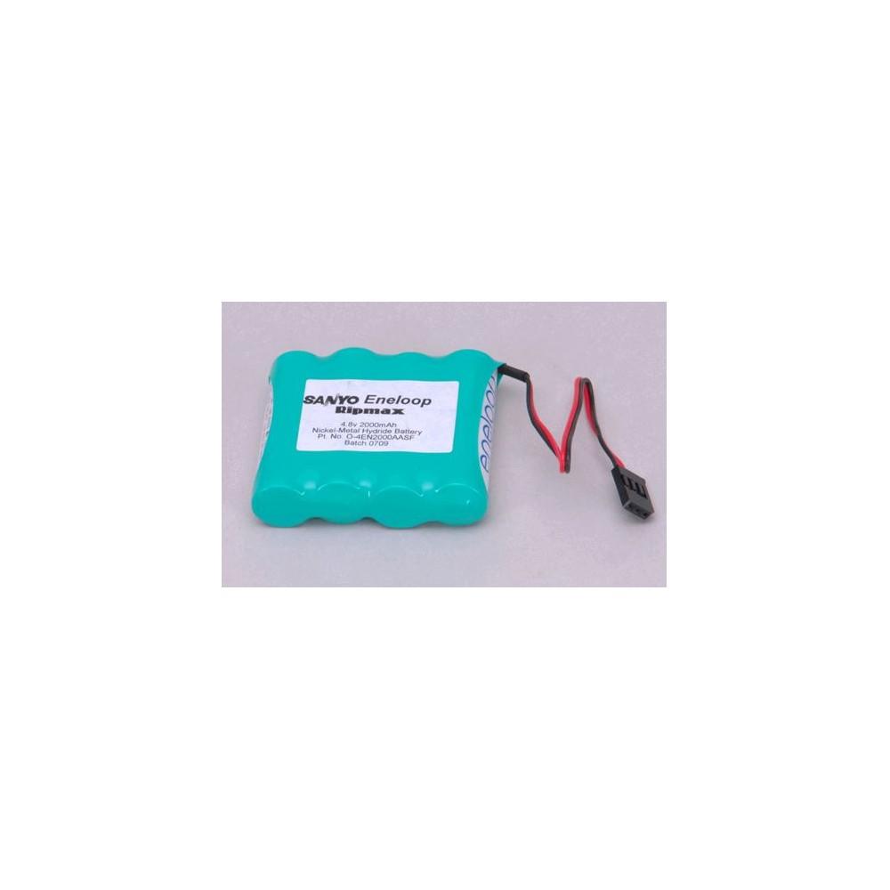 POWER PACK 4 NIMH ACCU 2000 MAH 4,8V ENELOOP FLAT.