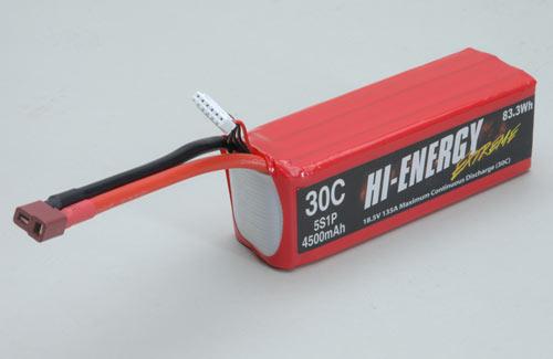Hi-Energy Extreme 5S 4500mAh 30C li-Po
