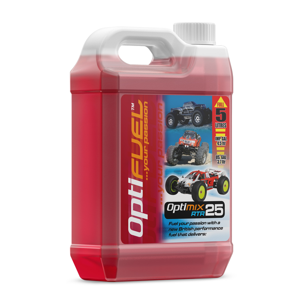 Optimix RTR 25% Nitro Car Fuel 5 Litres