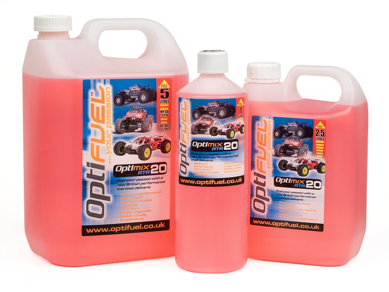 Optimix RTR 20% Nitro Car Fuel 2.5 Litres