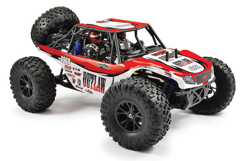 FTX OUTLAW 1/10 BRUSHED 4WD ULTRA-4 RTR BUGGY (Dual Speed ESC)