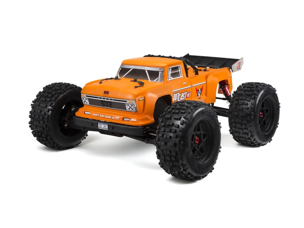 ARRMA Outcast Stunt Truck 4WD 6S BLX 1:8 Orange 2018