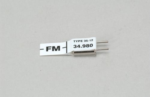 Futaba Ch 58 (34.980)FM Rx Xtl