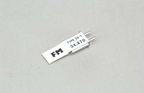 Futaba Ch 57 (34.970)FM Tx Xtl