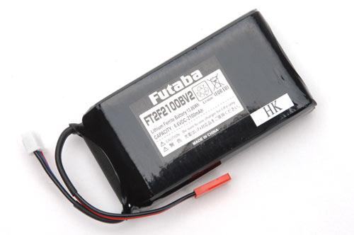 Futaba Tx Battery 6.6v Li-Fe 2100mAh (4PLS/4PX/8J/10J/14SG/18SZ)