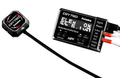 Futaba GY750 Gyro 3-Axis/Governor