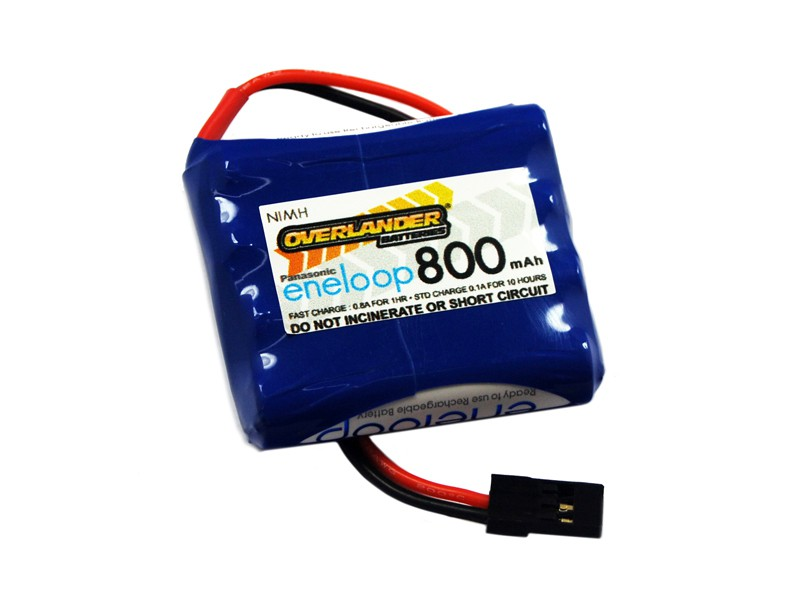 Panasonic Eneloop 800 AAA 4.8v Receiver Flat