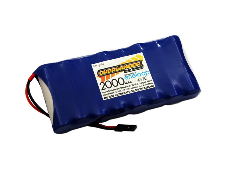 Eneloop 2000mAh 9.6v Transmitter Battery (Flat)