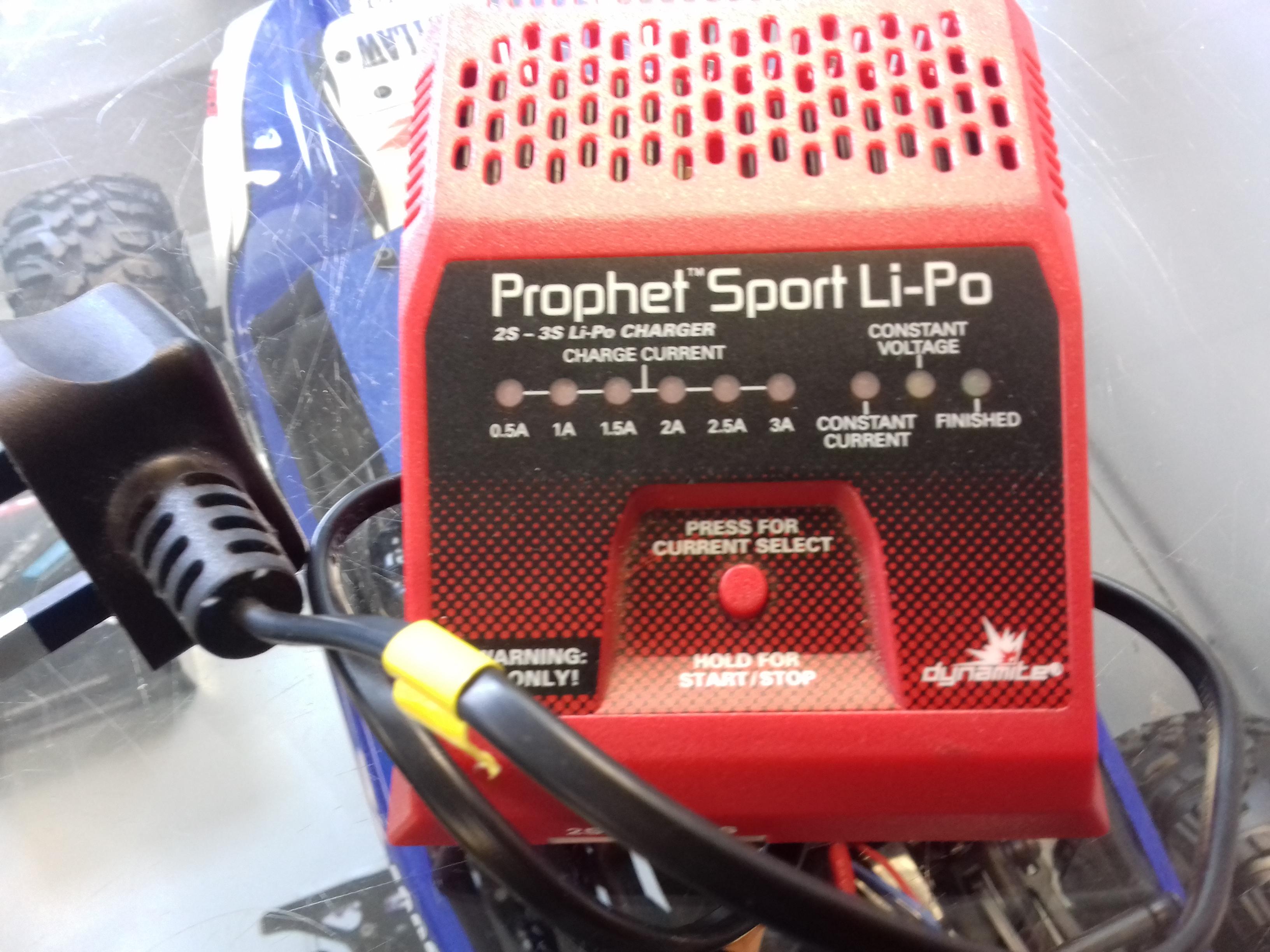 Prophet Sport Li-po 2/3s Charger