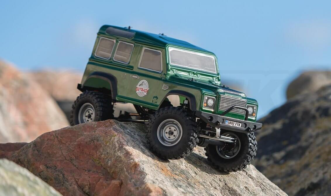 FTX OUTBACK RANGER 2 4X4 RTR 1:10 Trail Crawler (Green)