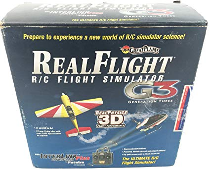 Realflight G3 Simulator with Interlink Transmitter