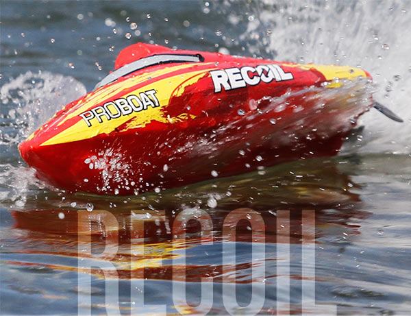 RECOIL 17 SELF-RIGHTING DEEP V BRUSHLESS: RTR INT